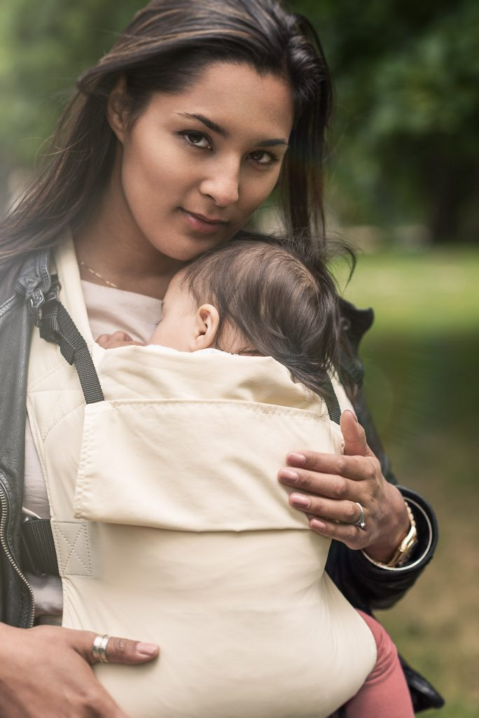 Connecta Solar baby carrier and toddler carrier